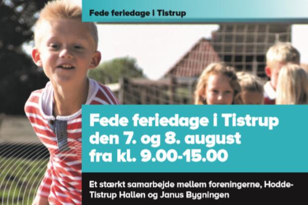 Fede feriedage i Hodde Tistrup Hallen
